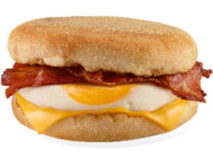 McMuffin Egg & Bacon