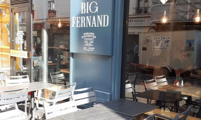 Big Fernand Paris Bastille
