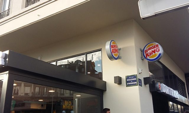 Burger King Paris Gare de l'Est