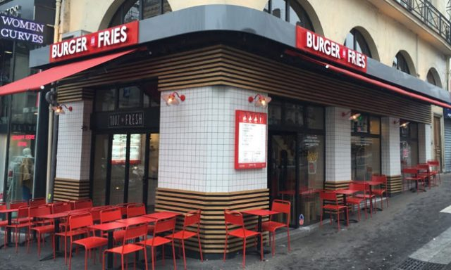Burger & Fries Paris Bonne Nouvelle
