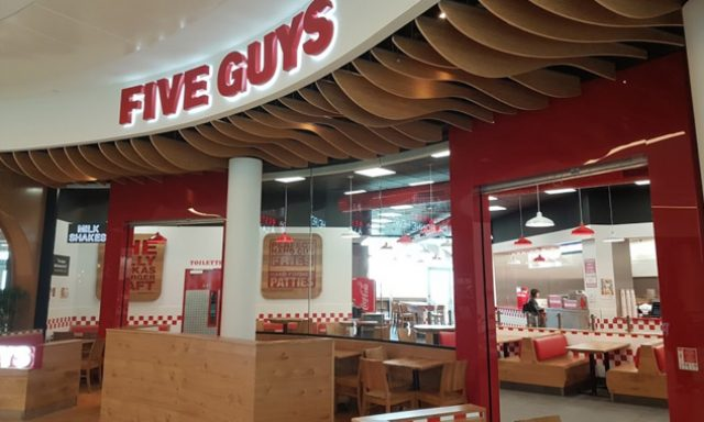 Five Guys Dijon Toison d'Or