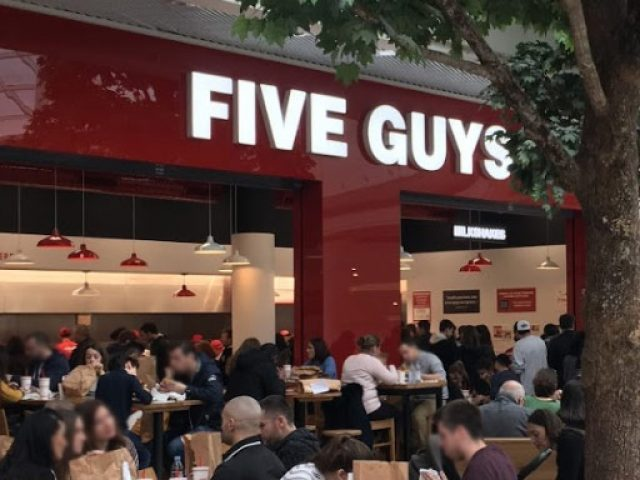Five Guys Nantes Atlantis