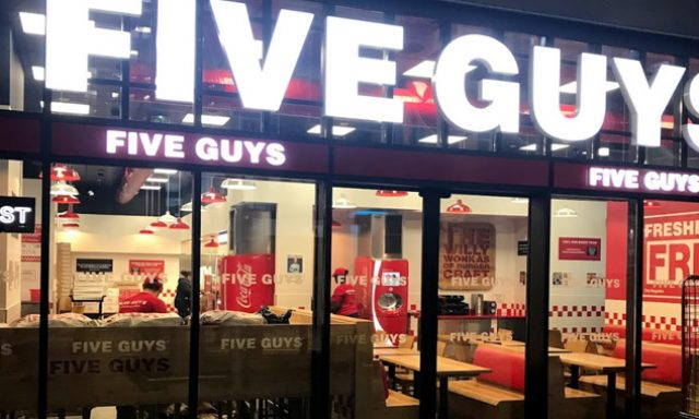 Five Guys Paris Gare du Nord