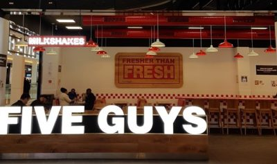 Five Guys Rosny 2