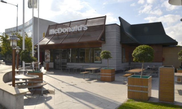McDonald's Bobigny Illustration