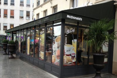 McDonald's Paris Cadet