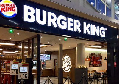 Restaurant Burger King Centre commercial Bay 2, Collegien