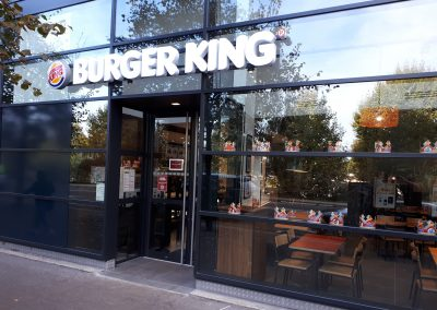 Restaurant Burger King Paris BNF