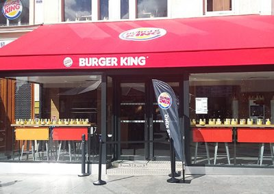 Restaurant Burger King Paris Gare du Nord