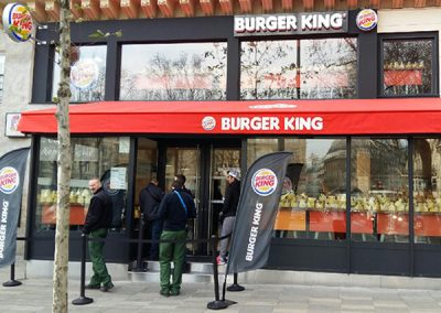 Restaurant Burger King Place de la République, Paris