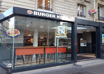Restaurant Burger King, Avenue de Wagram a Paris