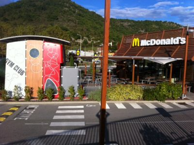 Restaurant McDonald's a Privas